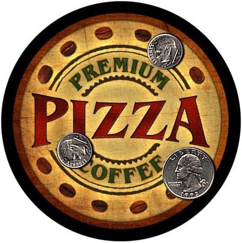Pizza Coffee Custom It is very popular Neoprene Rubber Drink Coasters Bargain - 4 pcs