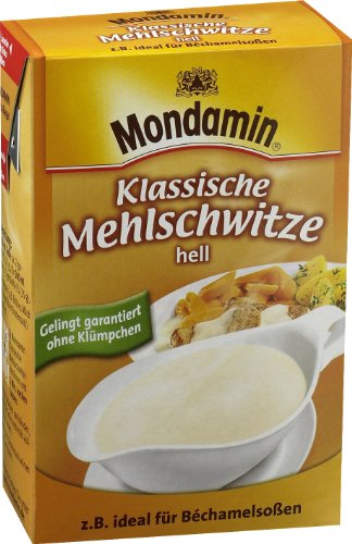Mondamin Mehlschwitze Hell, 4er-Pack (4 x 250 g)