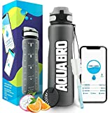 Product Image of the Aquabro Motivational Water Bottle