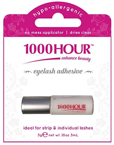 1000 HOUR Eyelash Adhesive Glue, Clear, 3g