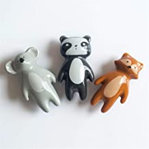 Furniture Handle 10st Cartoon Cute Ceramic stevige steel ladehandvat for Cupboard kledingkasten (Kleur: Koala, Afmetingen:...