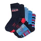 Schiesser Mädchen Kindersocken (5PACK) Socken, Mehrfarbig (Sortiert 1 901), 31-34 (Herstellergröße: 456) (5er Pack)