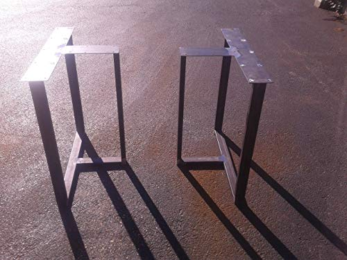 Metal Table Legs, T-Shaped Style - Any Size and Color