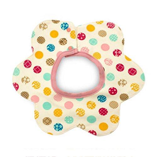 Bavoir bébé Liuyu · Maison de Vie Coton Rotation à 360 ° imperméable Nouveau-nés (Couleur : A, Taille : 1 Set)