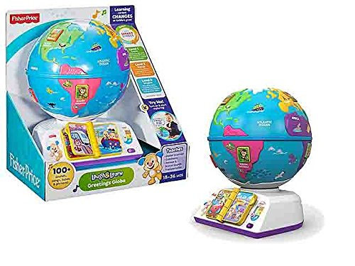 Fisher Price Globus Hund Spiel Spielzeug Geschenk # AG17