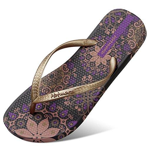 Flip Flops Havaianas Femme Tongs Sandales Confortables Et Résistantes À l'usure,39
