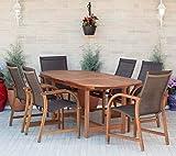 Amazonia 7-Piece Eucalyptus Oval Dining Set