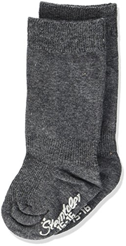 Sterntaler Sterntaler Unisex Baby Kniestrümpfe Doppelpack Socken, Anthrazit mel., 17-18