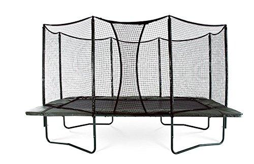 alleyoop 10'X17rectangular trampolín con seguridad integrada Enclosure