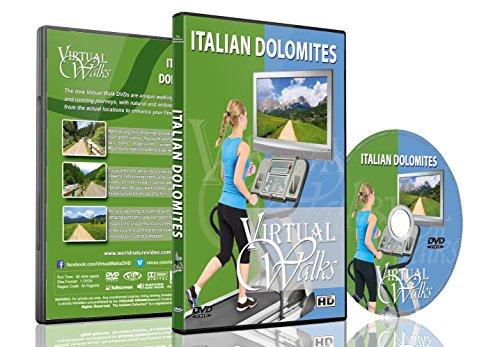 Virtuelle Spaziergänge - Italienische Dolomiten für Indoor Walking, Laufband und Fahrradtraining