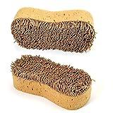 nuluxi Multifuncional Esponjas para vehículos Lavado de Autos Suave Esponjas Esponja de Limpieza Accesorios de Coche Esponja para Lavado Durable y Práctico Adecuado para Lavado Coche, Cocina y Baño
