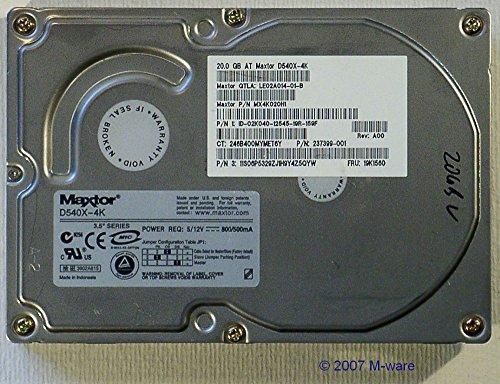 20GB at Festplatte Maxtor D540X-4K IDE ID4760