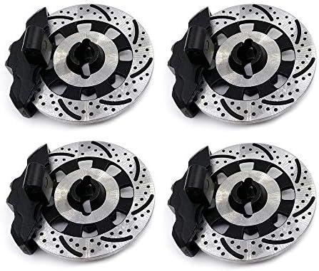 AKDSteel 4 stuks aluminiumlegering Mental Brake Disc Drive Hub voor 17 Traxxas Unlimited Desert Racer UDR 8569 RC Autoaccessoires F05 bijgewerkte versie