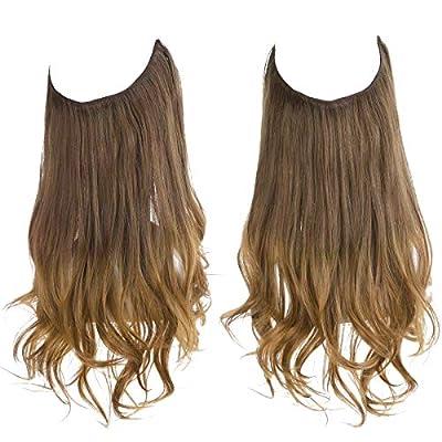SARLA Ombre Halo Hair