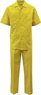 Men's Solid Linen Set