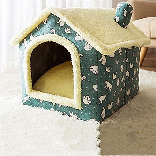 QWEQWE Casa Plegable para Mascotas Casa de Gato acogedora para Perros pequeños Gatito de Gato Suministros para Mascotas (Color : Pet House 3, Size : S01)