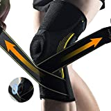 Knee Brace for Women and Men - Compression Knee Sleeve Support for Running,Squats, Gym, Be...