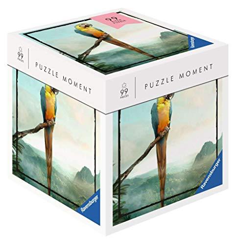 RAVENSBURGER PUZZLE- Ravensburger 16539-Puzzle da 99 Pezzi, Motivo: Pappagallo, Colore Giallo, 16539