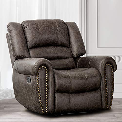CANMOV Leather Recliner Chair