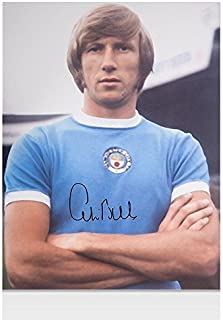 Colin Bell Signed Photo - Manchester City Autograph - Autographed Soccer Photos