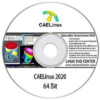 "CAELinux 2020 ""Engineering OS"" (64Bit) - Bootable Linux Installation DVD"