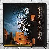 DNJKSA Ray West e Zilla Rocca LW Poster su Tela Wall Art Arredamento della Camera Ritratto Decorazione della Parete Pittura Immagini Stampa su Tela 60x60 cm Senza Cornice
