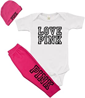 Infant Girls Outfit - Pink