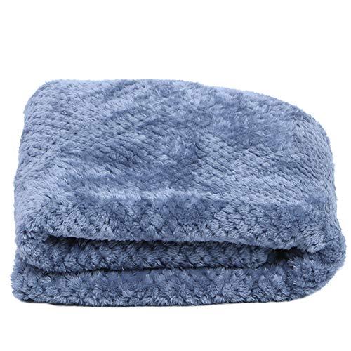ASHATA Klimaanlage Decke, Langlebige Bettdecke, Leichte Schlafzimmerversorgung, für Boxspring-Schlafsofa(Soot Blue, 100 * 150cm)