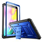 SUPCASE Unicorn Beetle Pro Series Case Designed for Galaxy Tab A 10.1 (2019 Release), Full-Body Rugged Heavy Duty Protective Tablet Case with Built-in Screen Protector (Royal Blue)