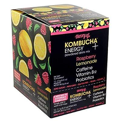 Theory of Kombucha Powdered Drink Mix, Energy +...