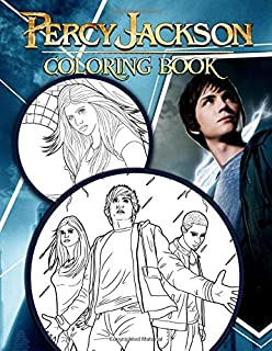 Percy Jackson Coloring Book: Gorgeous Collection Of Percy Jackson Characters And His Series For Relaxation And Entertaining
