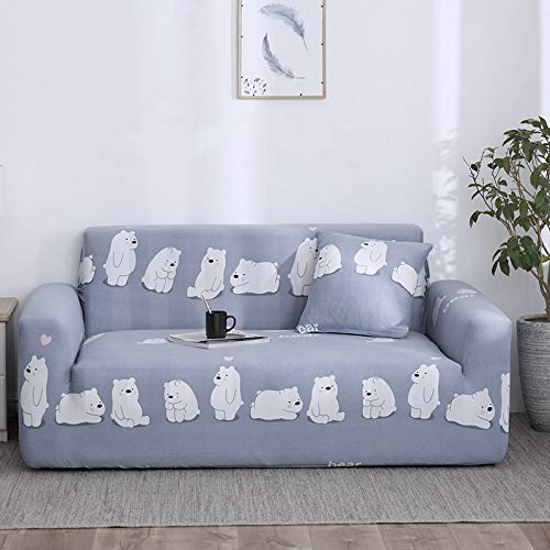 SSHHJ Modern Geometric Lattice Sofa Cover, All-Inclusive Non-Slip Anti-Fouling Sofa Towel Four Seasons Universal Sofa Chair Cover, Dirt-Resistant And Good Cleaning Sofa Cover