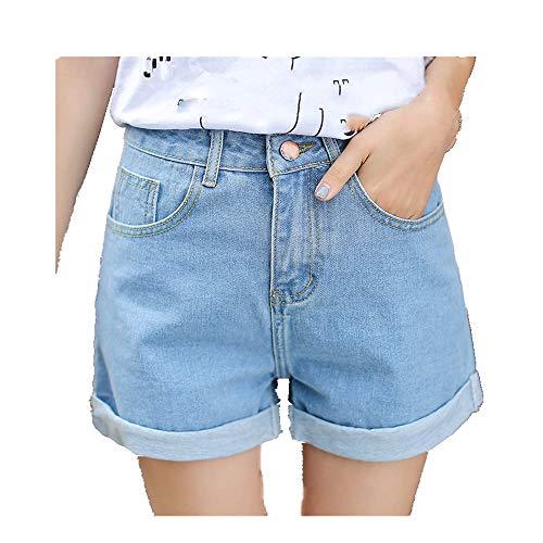 N\P Alta Cintura Mujer Pantalones Cortos de las Mujeres de Verano de las Señoras pantalones