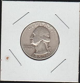 1952 D Washington (1932 to Date) Quarter Choice Fine Details