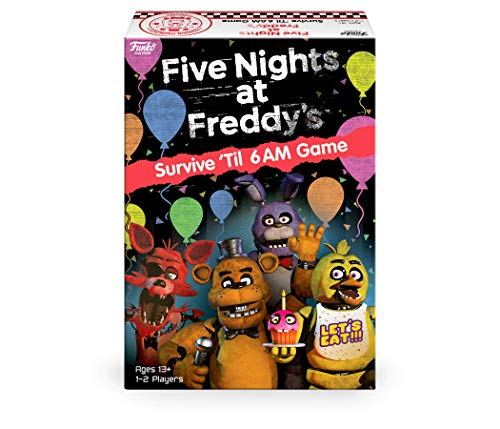 Funko 51761 Board Games 51761 Signature Five Nights at Freddy's Game, Multicolour