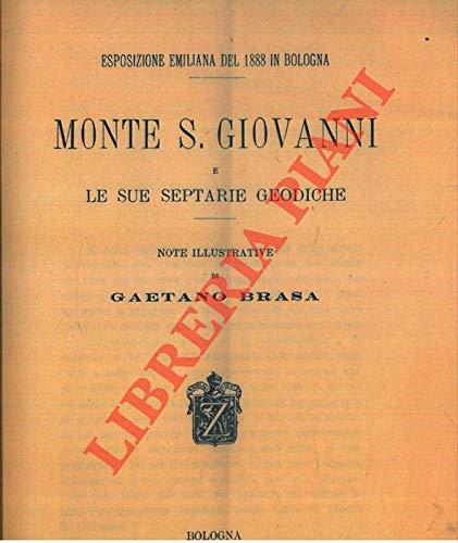 Monte S.Giovanni e le sue septarie geodiche.