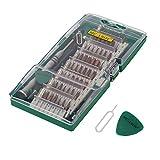 Pynarc 62en1 Kit del Destornillador, Electronico Preciso Reparación Herramientas de Precisión Torx Manejador de Dispositivo para Celular, iPad, Tablet, PC, Cámara, Juguete electrónico