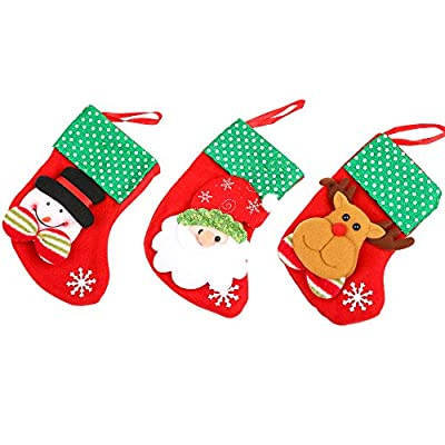 Christmas Stockings,Christmas Decorations Santa...