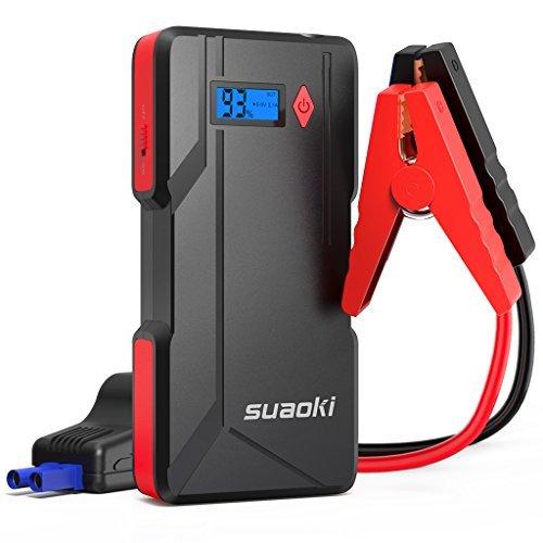 SUAOKI P6 arrancador de Coche 800A Batería de automóvil máxima (hasta 6.0...
