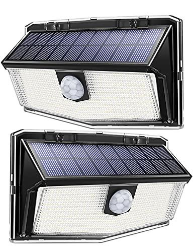 Luce Solare con 300 LED, Luci Solari Esterno con Sensore di Movimento a 270°, 3 Modalità di...