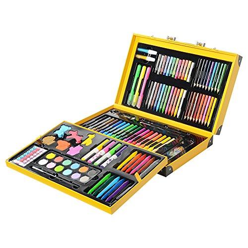 Conjunto Arte CONDA Deluxe en Maletín, Para Niños o Adultos -Set Material...