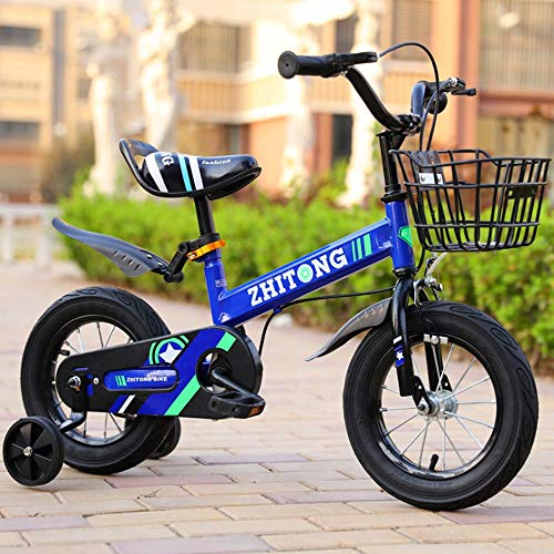 """T-Day Kids Bike Child's Bike Children Bicycle Boy's Girl's Child Bike 12"""", 14"""", 16"""", 18"""" with Stabilisers, Water Bottle and Holder. (Color : D, Size : 18inch)"""