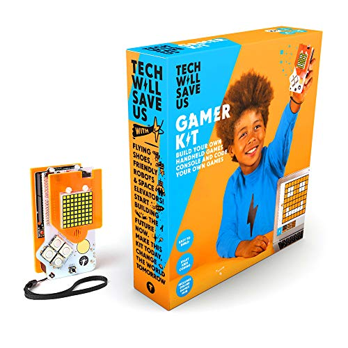 Tech Will Save Us, Gamer Kit (Ready-Soldered) | Educational STEM Toy, Ages 12 and Up