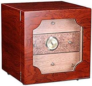 Three-Layer Large Capacity Cigar Humidor - Cigar Humidor Cigar Cabinet Portable Cedar Wood Moisturizing Cigar Box