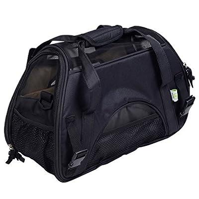 Super buy Large Pet Carrier OxFord Soft Sided Cat/Dog Comfort Travel Tote Shoulder Bag