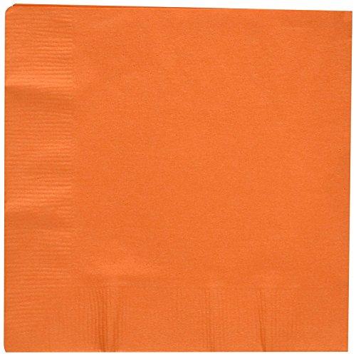 Creative Conversion 192942 Sunkissed serviettes de table orange-orange