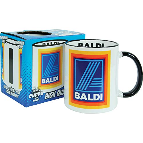 Baldi Comedy Mug. Quality Gift Boxed Cup Funny Comedy HUMOUROUS for him Man dad Father