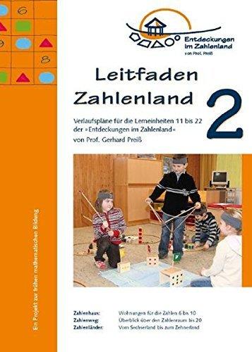 Leitfaden Zahlenland 2 (Das Zahlenland im Kindergarten) by Gerhard Preiß (2009-04-01)