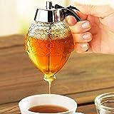 Sorpresa de Verano Dispensador de miel sin vaso de goteo, vaso dispensador de...