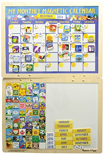 Melissa & Doug- My Monthly Magnetic Calendar (13788)